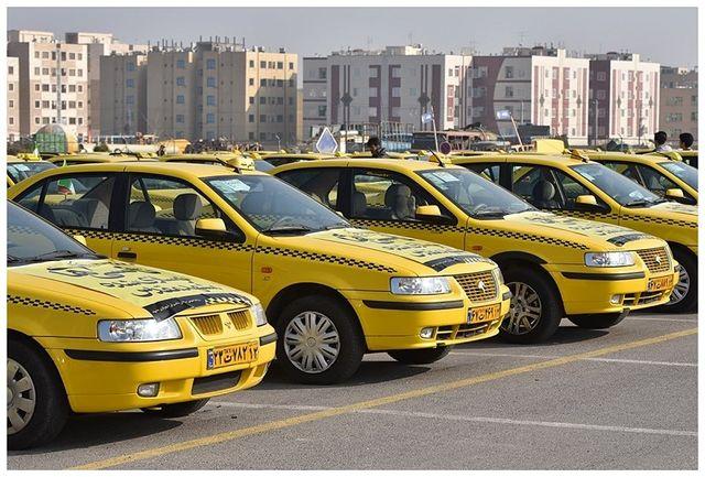 توزیع لاستیک در بین تاکسی داران