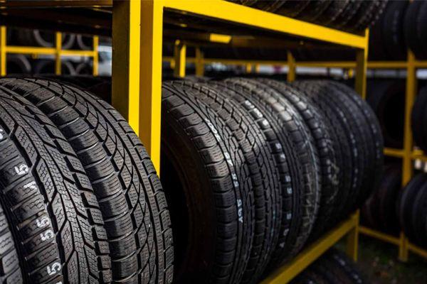 تایرهای سواری داخلی توقیفشده در انتظار تعیین تکلیف